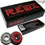 BONES Reds Bearings Roller Derby Quad Skates 7mm 627 size for 7mm Diameter Axles